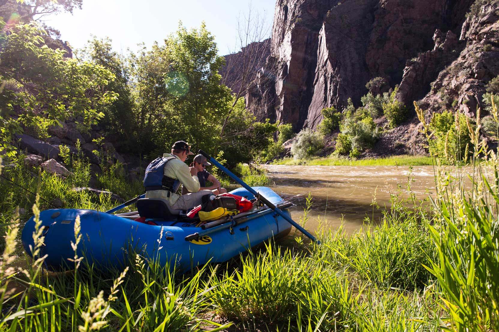 Boats-on-the-Gunnison