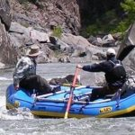 Rafting at the Drops in the Gunnison Gorgre on the Gunnison River