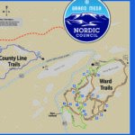 Nordic Council Trails Map